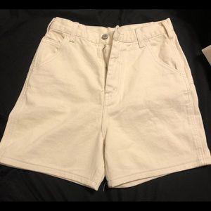 Ariana Cream Painter Shorts